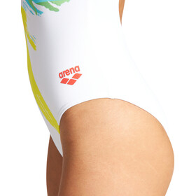 arena Calibrate Light Drop Back One Piece Swimsuit Women, wit/bont
